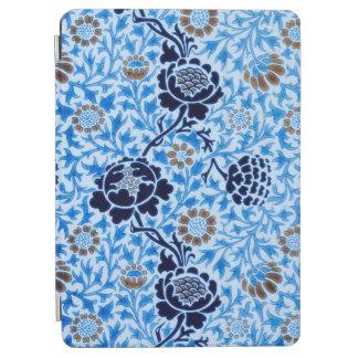 Capa Para iPad Air Teste padrão do Victorian no azul