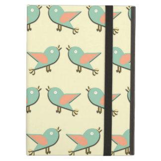 Capa Para iPad Air Teste padrão dos pássaros