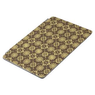 Capa Para iPad Air Teste padrão dourado do Victorian