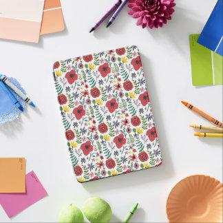 Capa Para iPad Air Teste padrão floral do Watercolour
