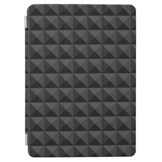 Capa Para iPad Air Teste padrão geométrico moderno do quadrado preto