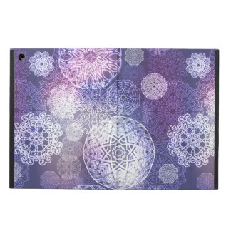 Capa Para iPad Air Teste padrão luxuoso floral da mandala