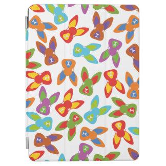 Capa Para iPad Air Teste padrão psicótico da páscoa colorido