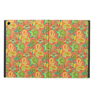 Capa Para iPad Air Teste padrão sem emenda colorido bonito de paisley