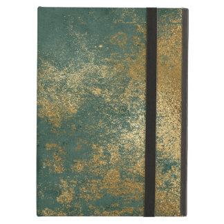 Capa Para iPad Air Textura afligida do ouro