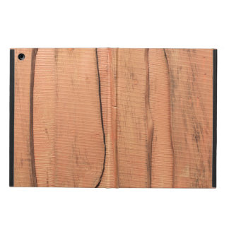 Capa Para iPad Air Textura de madeira