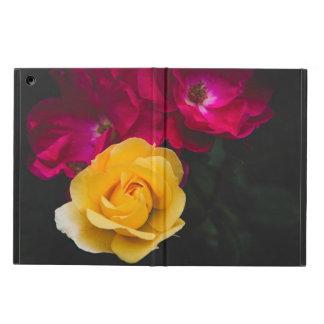 Capa Para iPad Air Três rosas