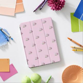 Capa Para iPad Air Três rosas cor-de-rosa. Teste padrão floral
