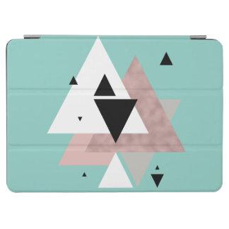 Capa Para iPad Air triângulos geométricos da hortelã cor-de-rosa