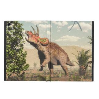 Capa Para iPad Air Triceratops que come na árvore da magnólia - 3D