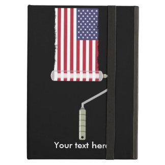 Capa Para iPad Air U.S.A. Rolo de pintura da bandeira