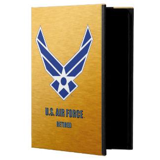 Capa Para iPad Air U.S. Caso aposentado força aérea do iPad
