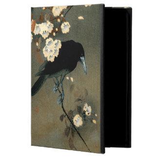 Capa Para iPad Air Um corvo e uma flor pelo vintage de Ohara Koson