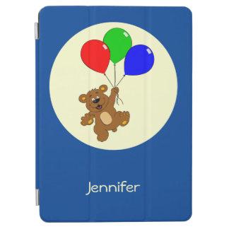 Capa Para iPad Air Urso bonito com os miúdos do nome dos desenhos
