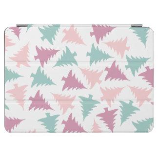 Capa Para iPad Air Verde roxo do rosa pastel do teste padrão da