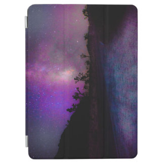 Capa Para iPad Air Via Láctea do parque nacional de árvore de Joshua