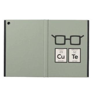 Capa Para iPad Air Vidros bonitos Zwp34 do nerd do elemento químico