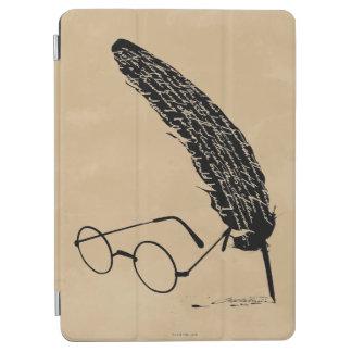 Capa Para iPad Air Vidros e Quill de Harry Potter  