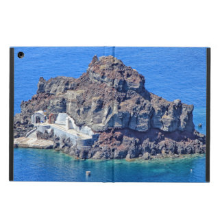Capa Para iPad Air Vista panorâmica de Santorini