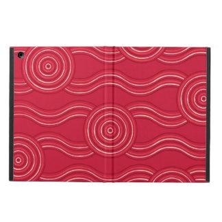 Capa Para iPad Air Waratah aborígene da arte