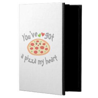 Capa Para iPad Air You've obteve a uma pizza meu coração humor