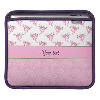 Capa Para iPad Arcos cor-de-rosa românticos & damasco cor-de-rosa
