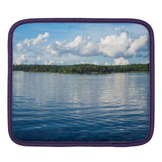 Capa Para iPad Arquipélago na costa de mar Báltico na suecia