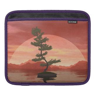 Capa Para iPad Árvore dos bonsais do pinho escocês - 3D rendem
