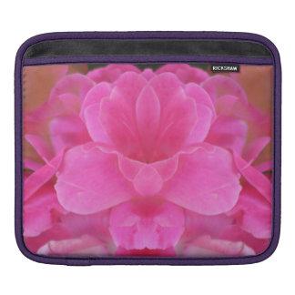 Capa Para iPad Aumentou a caixa da luva do rickshaw do iPad da