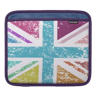 Capa Para iPad Bandeira de união afligida colorido
