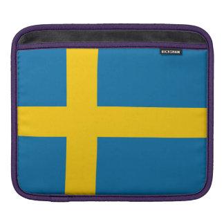 Capa Para iPad Bandeira nacional da suecia