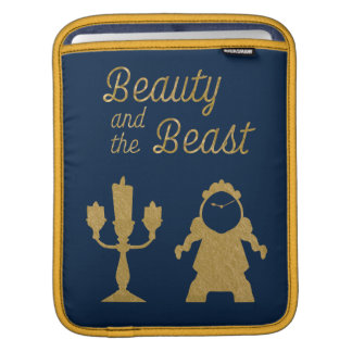 Capa Para iPad Belle   Lumiere e Cogsworth