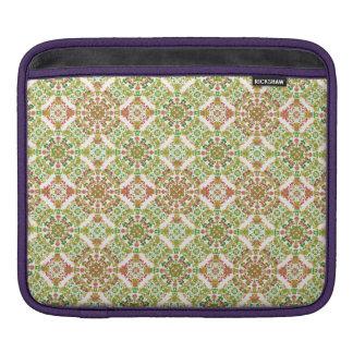 Capa Para iPad Boho floral estilizado colorido