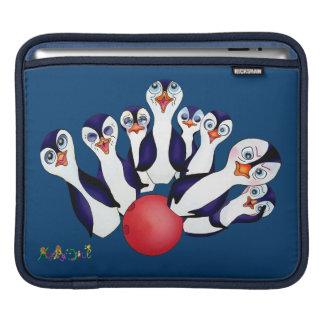 Capa Para iPad Boliche feliz & Penguinpins pelos comp(s) felizes