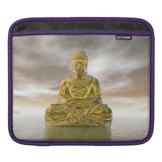 Capa Para iPad Buddha dourado - 3D rendem