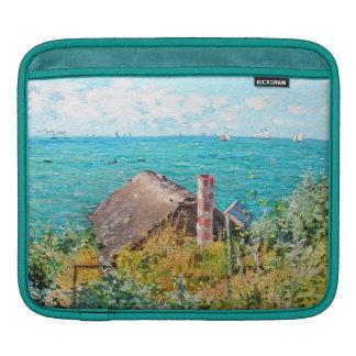 Capa Para iPad Claude Monet a cabine em belas artes do