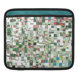 Capa Para iPad Conjuntos caóticos de verde