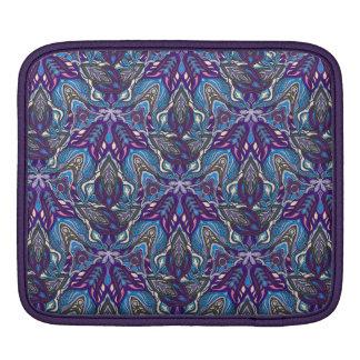 Capa Para iPad Design floral do teste padrão do abstrato da