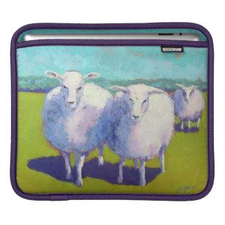 Capa Para iPad Dois carneiros no campo