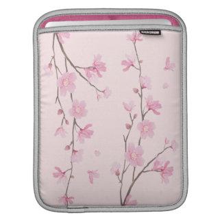 Capa Para iPad Flor de cerejeira - rosa