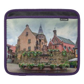 Capa Para iPad Fonte de Santo-Leon em Eguisheim, Alsácia, France
