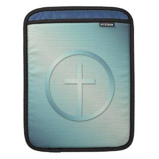 Capa Para iPad Gráfico transversal retro do emblema