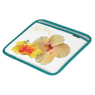 Capa Para iPad HIBISCUS do ☼, flor do ☼ da paixão