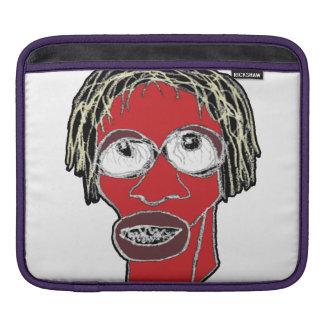Capa Para iPad Ilustração grotesco da caricatura do homem