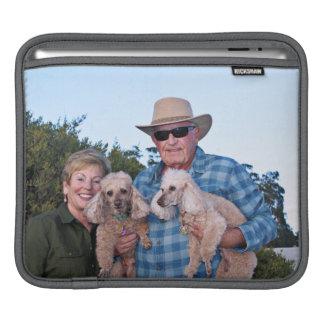 Capa Para iPad Lixívia - caniches - Romeo Remy