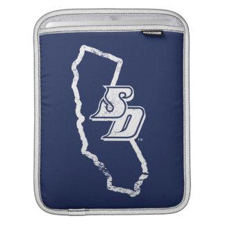 Capa Para iPad Logotipo do estado de Califórnia do vintage de USD