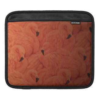 Capa Para iPad Luva cor-de-rosa tropical do iPad dos flamingos