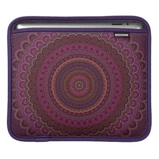Capa Para iPad Mandala roxa escura