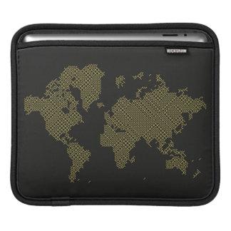Capa Para iPad Mapa do mundo de Digitas