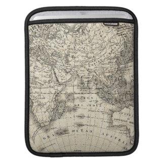 Capa Para iPad Mapa do vintage de Europa e de Ásia